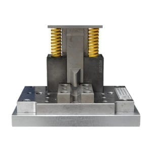 Corner wedge tool front view