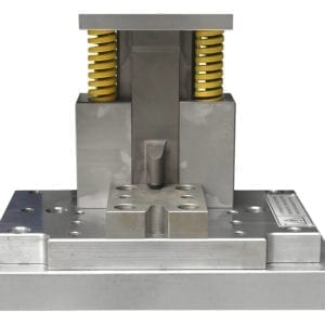 Slotted hole punch tool front view
