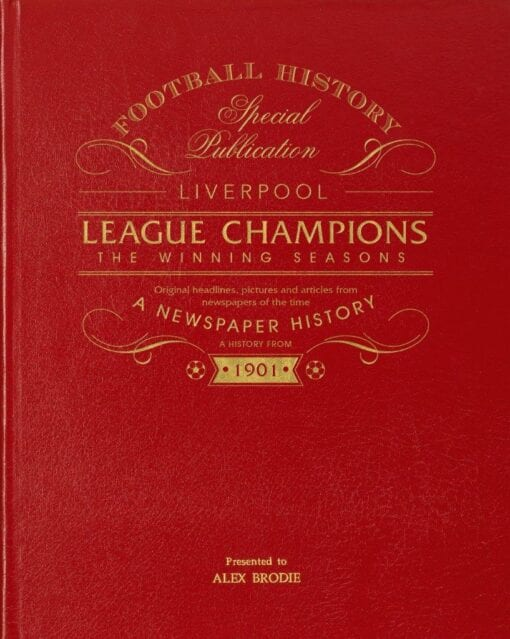 Liverpool Champions Cover
