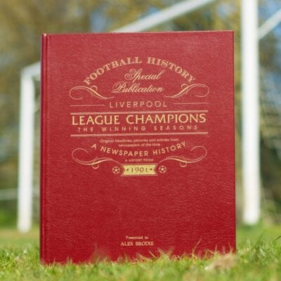 personalised Liverpool Football Gifts