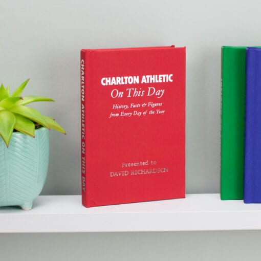 Personalised Charlton Athletic On This Day Book