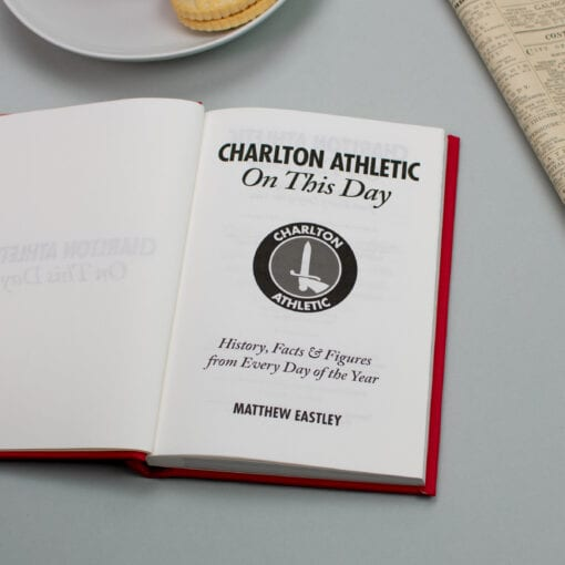 Charlton Athletic On This Day spread