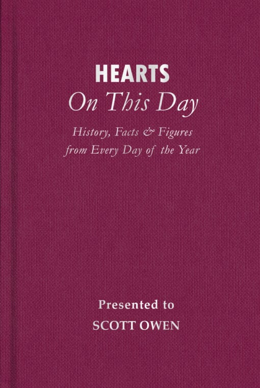Hearts On This Day Cover flat 1