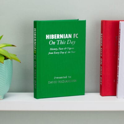 Personalised Hibernian On This Day Book