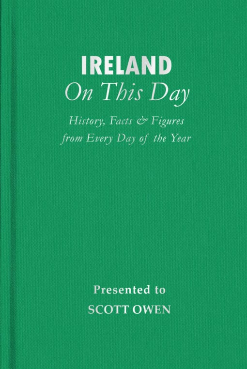 Ireland On This Day Cover flat 1