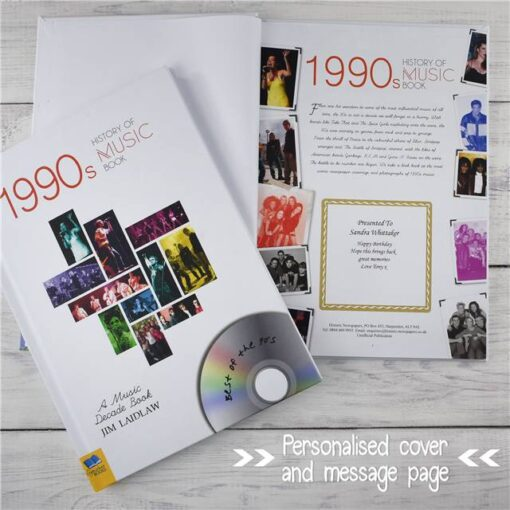 Music Decade 1990 Cover Message Coll oute