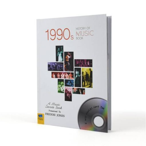 Music Decade 1990 Cover Standing
