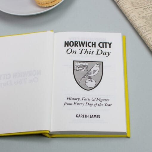 Norwich City On This Day spread
