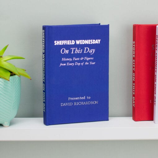 Personalised Sheffield Wednesday On This Day Book