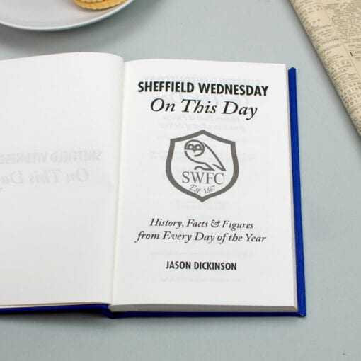 Sheffield Wednesday On This Day spread