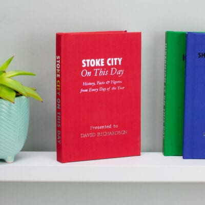 Personalised Stoke City On This Day Book