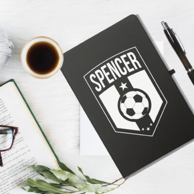 Football Badge Notebook 2 scaled 1