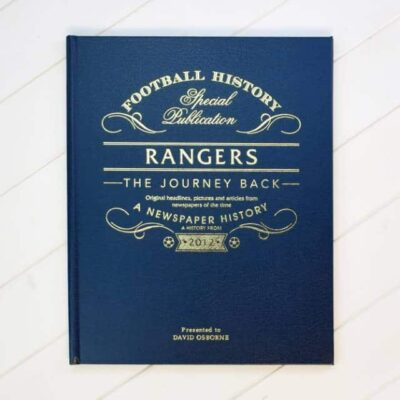 Rangers Journey Back Cover Lifestyle