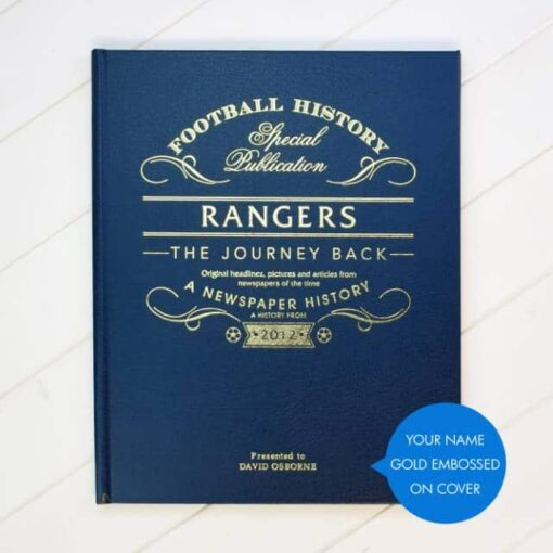 Rangers Journey Back Cover Lifestyle Callout