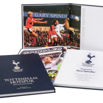 Spurs Ultimate Book Standing1 UK ONLY